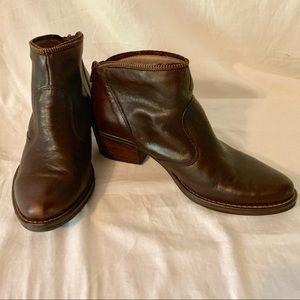 Kanna Leather Booties